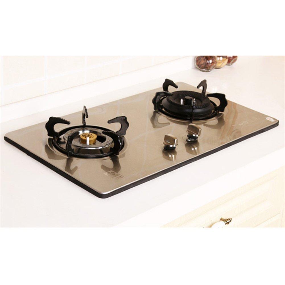 bestomz 2 m Junta de pintura antivegetativa, banda impermeabilizante rayas Cocina campos vitrocerámica cuarto de baño Herramientas de cocción (Negro)