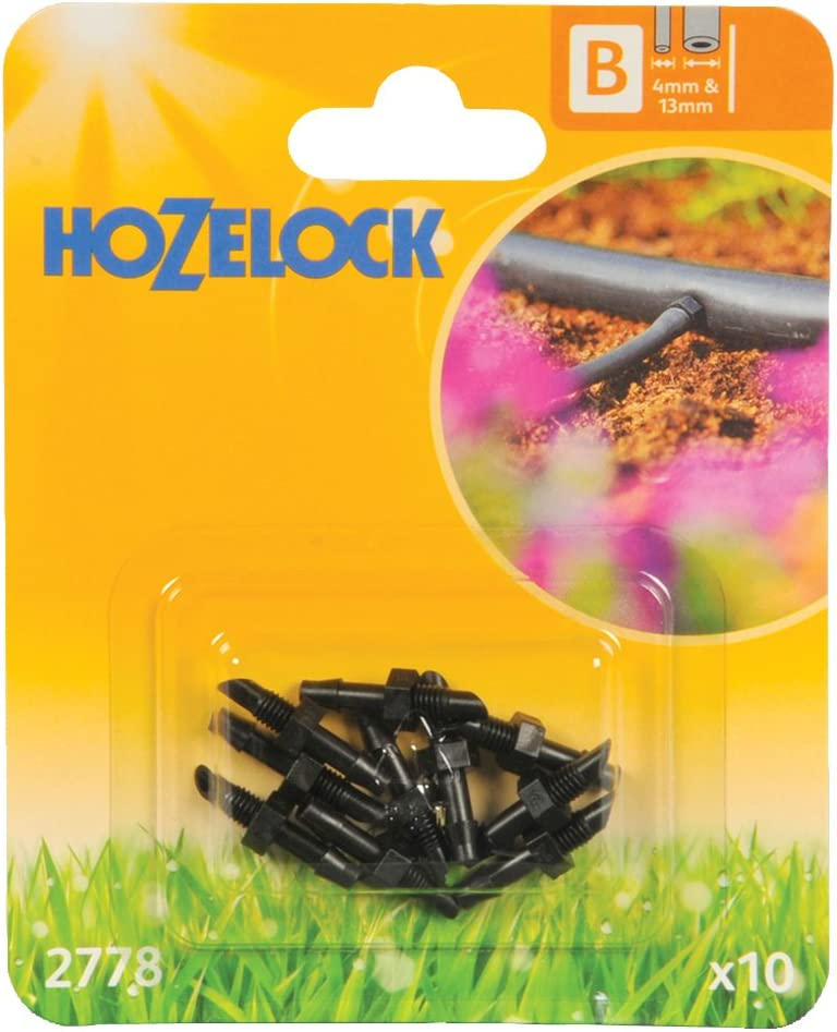 Hozelock Straight Connector Pack of 10 4 mm