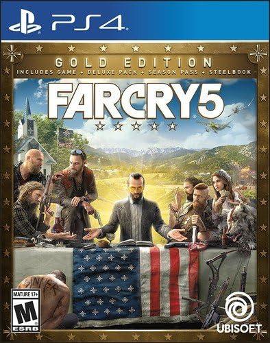 Ubisoft Far Cry 5 Steelbk Goldedtn Ps4 UBP30522104 Oro PlayStation ...