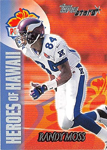 Image Unavailable. Image not available for. Color  Randy Moss football card  2000 Topps Stars  129 (Minnesota Vikings Hall of Fame WR 6088e9a16