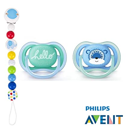 Philips AVENT Ultra Soft Air Chupete 6 - 18 Snow Bear//(2 ...