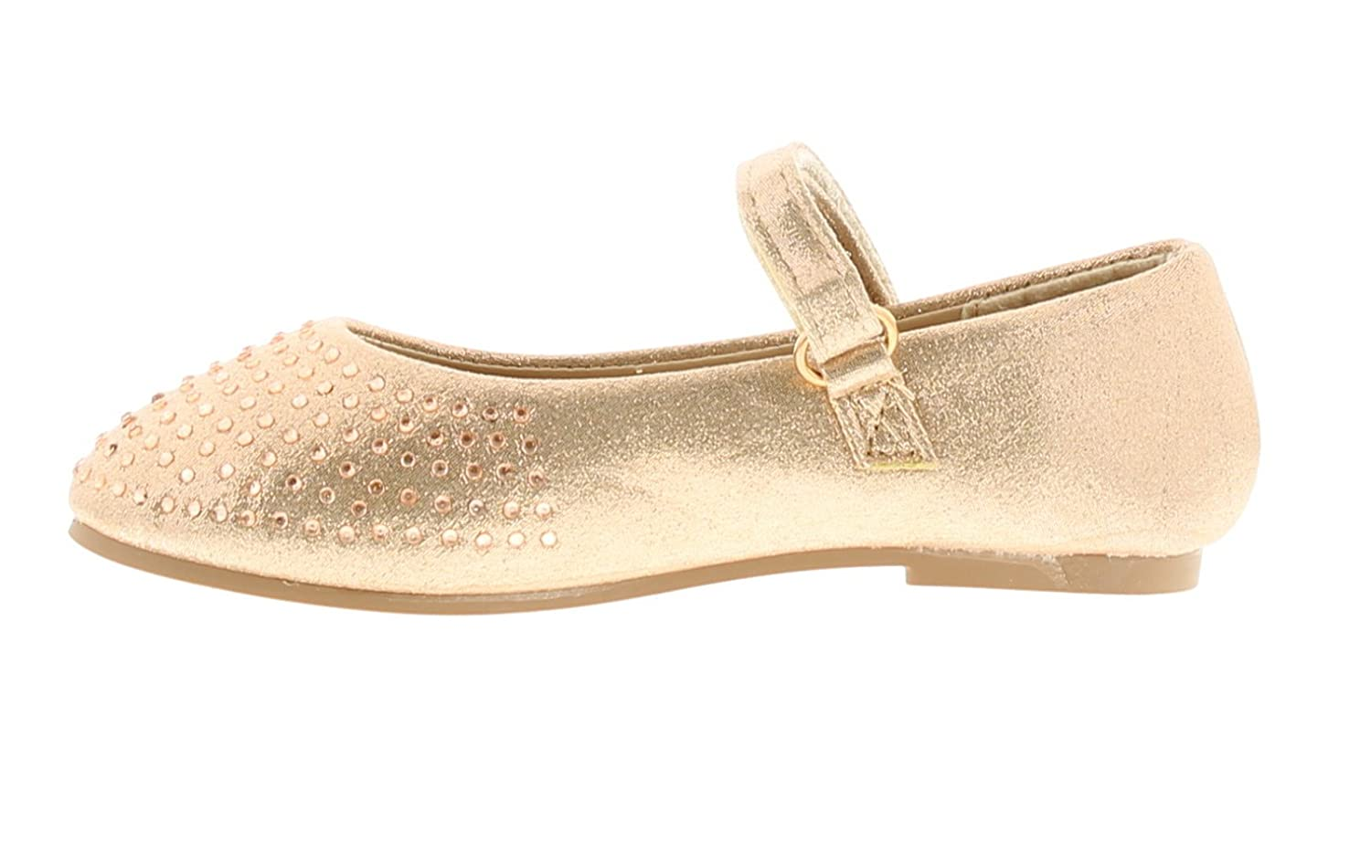 14505a244684 Princess Stardust Younger Girls Childrens Rose Gold Touch Fastening Shoes - Rose  Gold - UK Size 12  Amazon.co.uk  Shoes   Bags