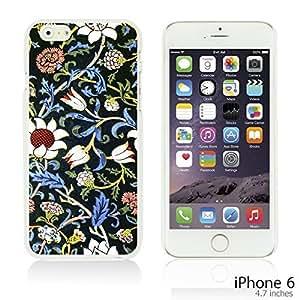 OnlineBestDigitalTM - Flower Pattern Hardback Case for Apple iPhone 6 (4.7 inch)Smartphone - Evenlode 2