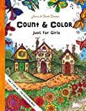 count color - Count & Color - Just for Girls: Age 3 and Up -  Fun-Schooling  Math (Homeschooling for Beginners) (Volume 2)