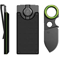 Gerber GDC Money Clip With Built In Fixed Blade Knife (Black)