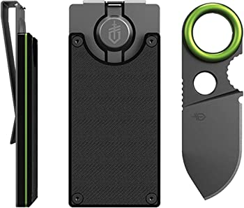 Gerber GDC Money Clip With Built In Fixed Blade Knife
