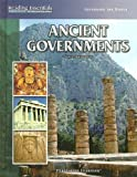 Ancient Governments, Nancy Shniderman, 0756945062