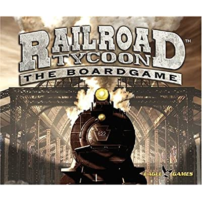 Image of Games EAGLE GAMES Railroad Tycoon the board game