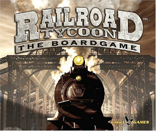 EAGLE GAMES Railroad Tycoon the board ()