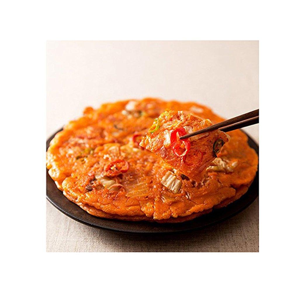 Coreano Kimchi panqueque(Kimchijeon) Mezcle el polvo, salsa de Kimchi (1 Pack (320g)): Amazon.es: Alimentación y bebidas