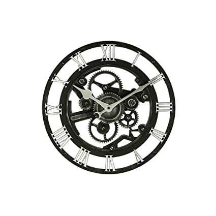 Amazon com: Fengfeng Wall Clocks, Creative Gears Hollowed-Out
