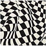 Safavieh Soho Collection SOH763B Handmade Abstract Checkered Black and Ivory Premium Wool Square Area Rug (6′ Square) For Sale
