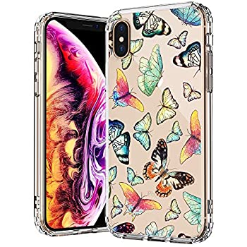 Amazon.com: Cute iPhone Xs Max Case Butterfly Clear with ...