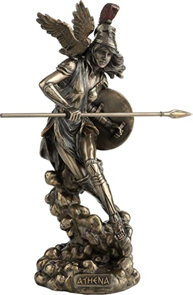 Athena Greek Goddess of Wisdom and War Statue