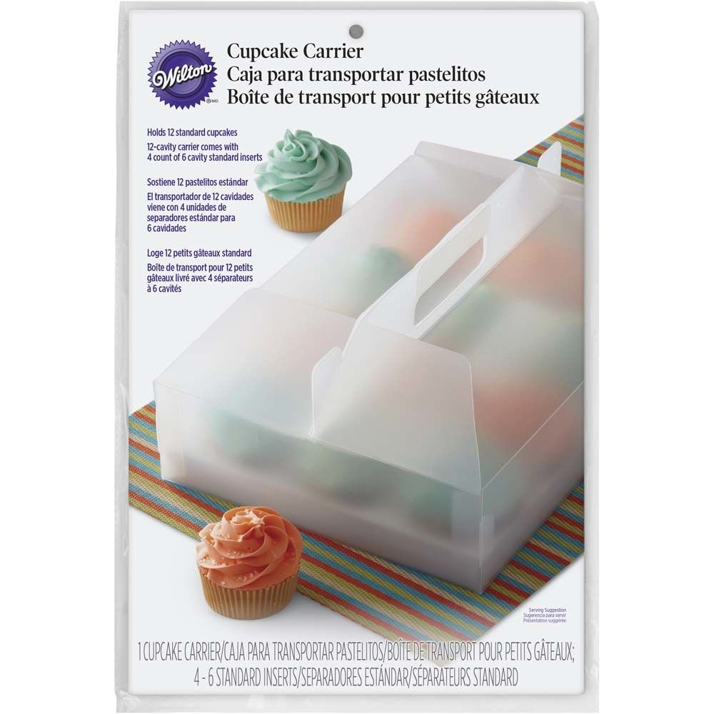 Wilton 415-8969 Durable Cupcake Clear Carrier, 1 Count
