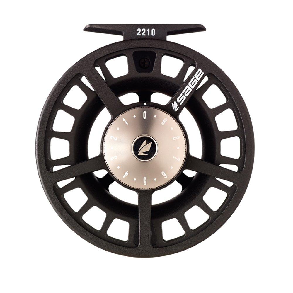 Sage 2210 Fly Reel-Black/Platinum (9-10 wt)