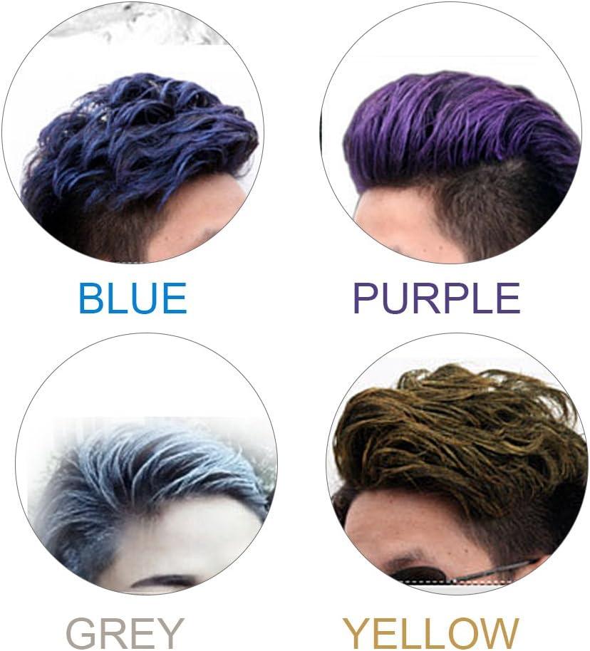 Tinte para el cabello desechable, estilo de moda desechable ...