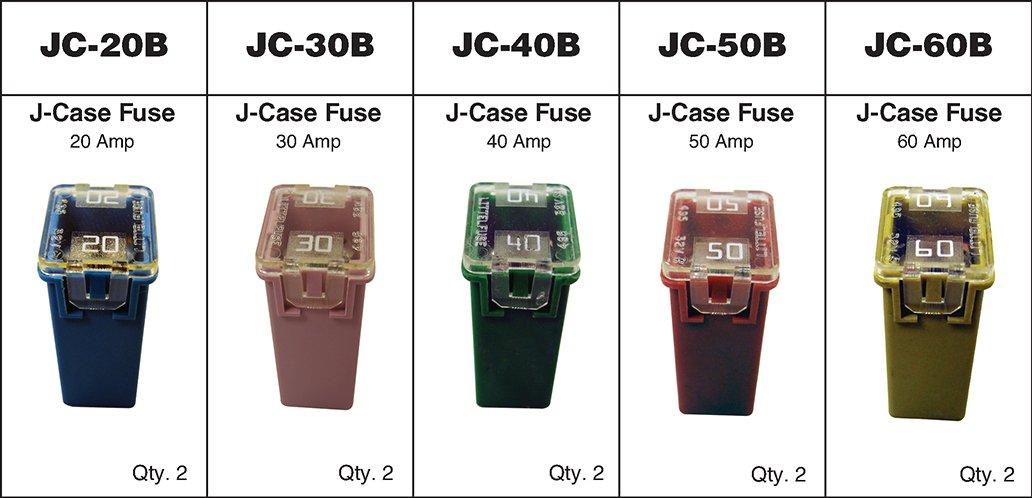 Dynamic DY-JC-10-A Case Fuse Assortment