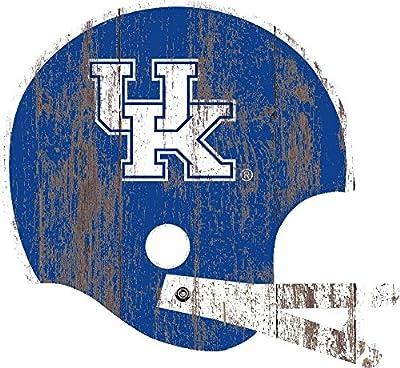 Fan Creations University of Kentucky Distressed Helmet Cutout, Multi