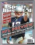 Sports Illustrated September 6, 2004 NFL Preview, New England Patriots' Tom Brady, Olympics, Donovan McNabb, Terrell Owens, LaDainian Tomlinson, Matt Hasselbeck