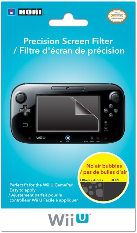 Hori Precision Screen Filter, Wii U - accesorios de juegos de pc (Wii U): Amazon.es: Videojuegos