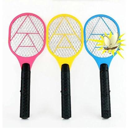 5fd134cc6067d5 Raquette électrique anti-moustiques, pour mouches, guêpes et autre insectes  - Tapette à