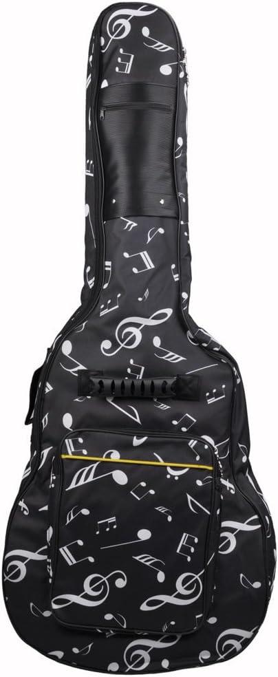 40/41-pulgada Balada Guitarra Bolso Oxford Tela Espesado Nota ...