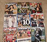 Entertainment Weekly Set - Lot of 9 issues featuring Katy Perry, Sandra Bullock, The Hobbit, American Horror Story and more
