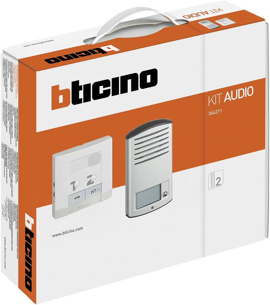 CK2 Kit audio avec platine en saillie Bticino