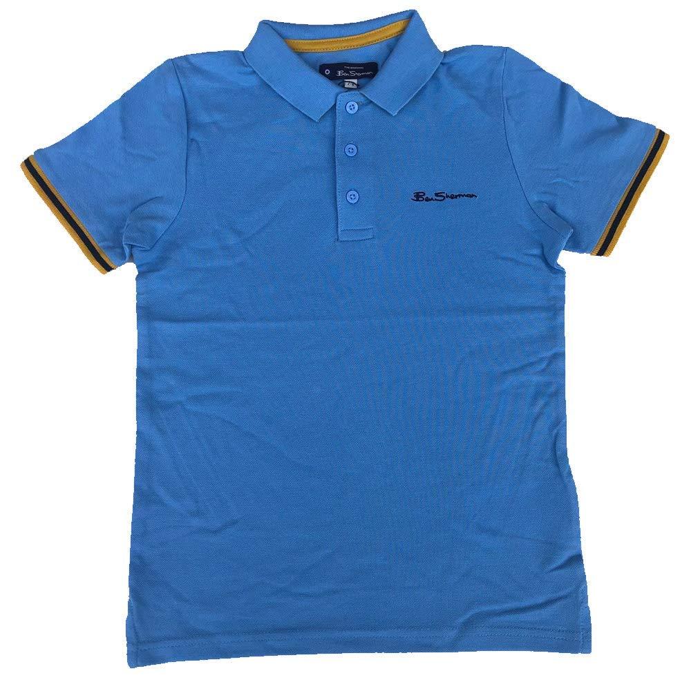 Ben Sherman Niño Polo Camiseta Little Boy Blue Edades 7 Años hasta ...