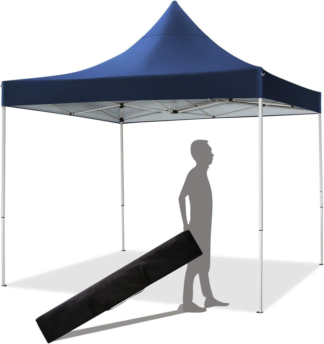 YUEBO Gazebo 3x3m Tonnelle Pliante imperm/éable Barnum Pliant Pavillon Tente Pliante avec 4 c/ôt/és Tonnelle de Jardin