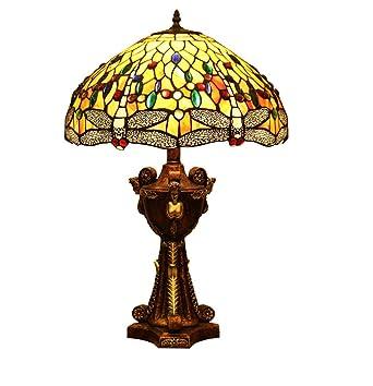 Lámpara de mesa estilo Tiffany Lámpara de escritorio de diseño de ...