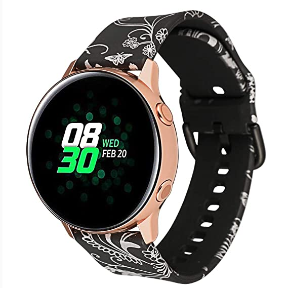Amazon.com: Watchband 20mm for Samsung Gear S2 Classic/Gear ...