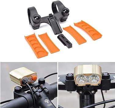 Soporte de Faro para Bicicleta Balight Bicicletas Linterna Rack ...