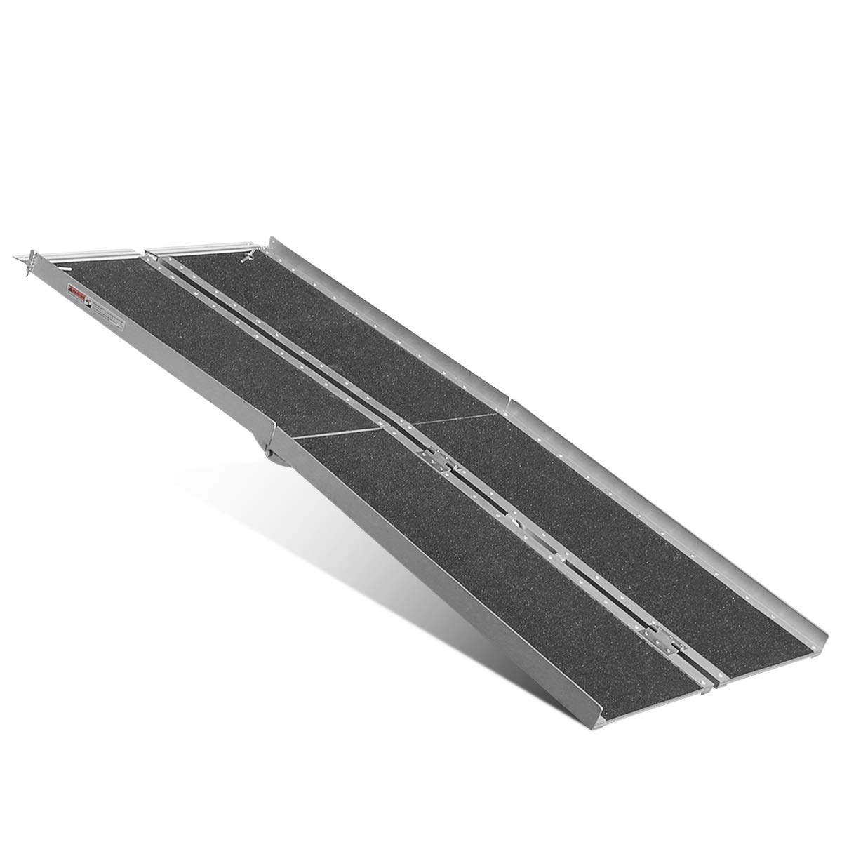 ORFORD 6' ft Aluminum Multifold Wheelchair Scooter Mobility Ramp Portable 72'' (MF6)