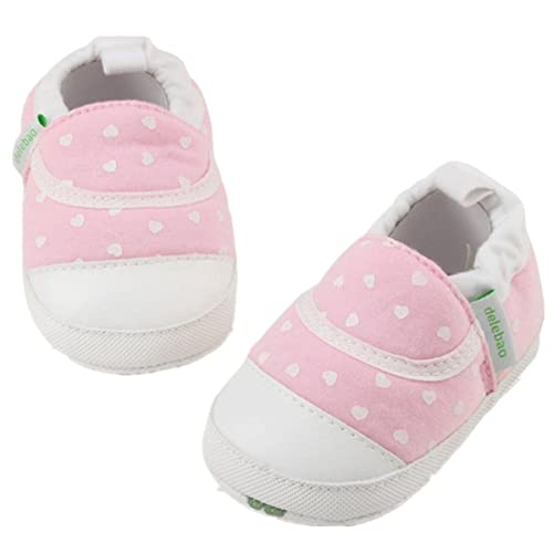 Infant Baby Boys Girls Shoes Soft Soled Cotton Crib Shoes Laces Prewalkers Baby Shoes New First Walkers