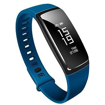 8ae388db55 スマートブレスレット 血圧測定 心拍計 歩数計 活動量計 防水 スマートウォッチ Bluetooth 着信