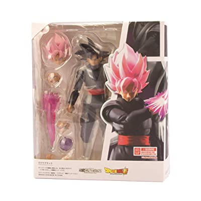 Opopark Elegant Dragon Ball Z Super Saiyan Son Goku/Gokou Figure S.H Figuarts Anime Toy Black: Office Products