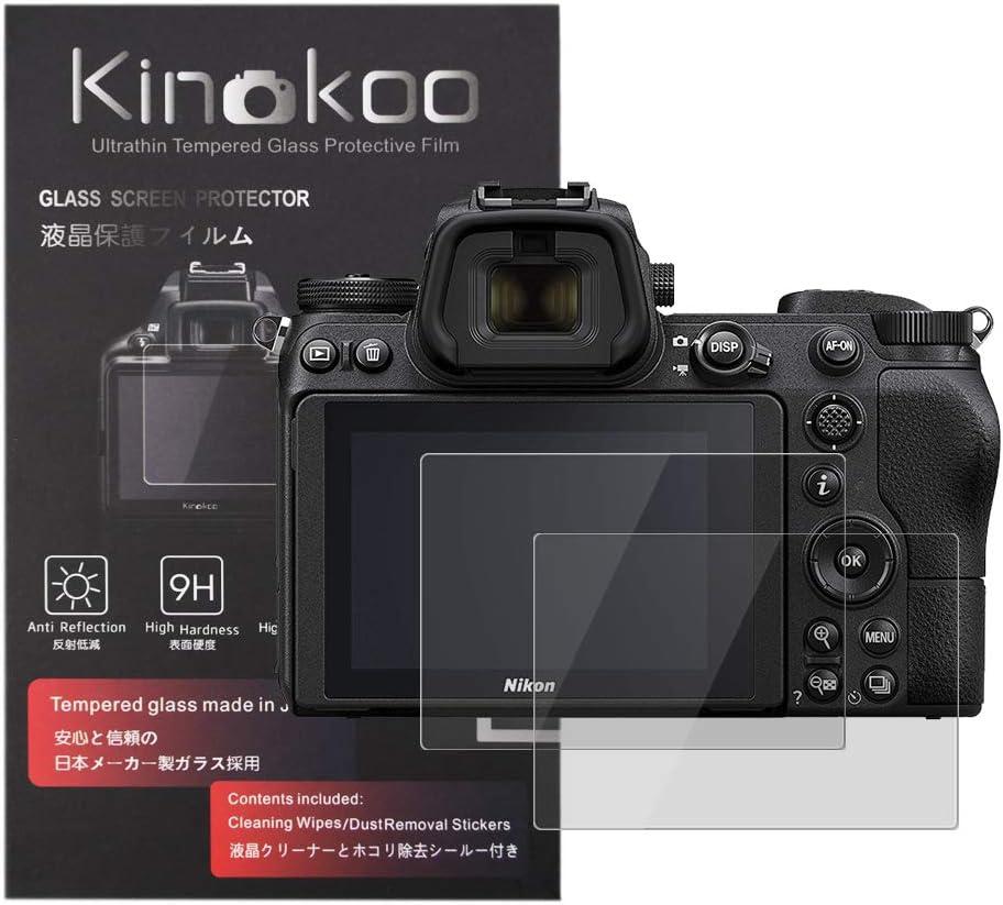 0.33mm Protector de Pantalla LCD Transparente de Vidrio Templado para Cámara DSLR Nikon D5600