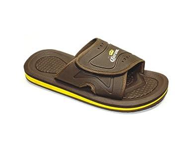 426bb465bdf Corona Mens Big Sizes Sandals Slides Extra Men s Regular   Big Sizes Beach  Sandals (8