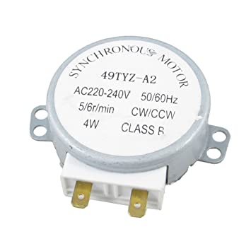 Tocadiscos Motor sincronizado microondas 4 W AC 220-240V ...