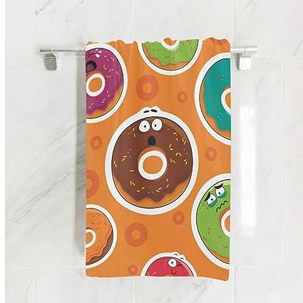 Ahomy - Toalla de baño (81 x 162 cm), diseño de Emoticono de