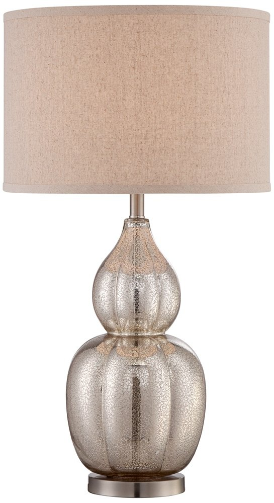 Jackie fluted mercury glass table lamp amazon aloadofball Images