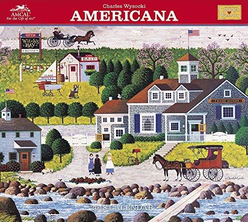 2018 Charles Wysocki Americana Wall Calendar (AMCAL)
