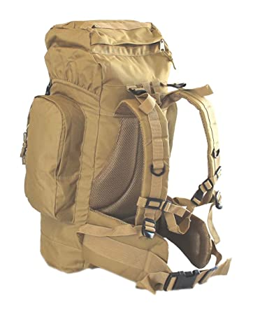 Amazon.com : Coyote Desert Tan 45L Rio Grande Hiking Military ...