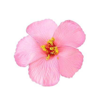 Amazoncom Tinksky 1 Pc Hibiscus Flowers Hawaiian Flowers