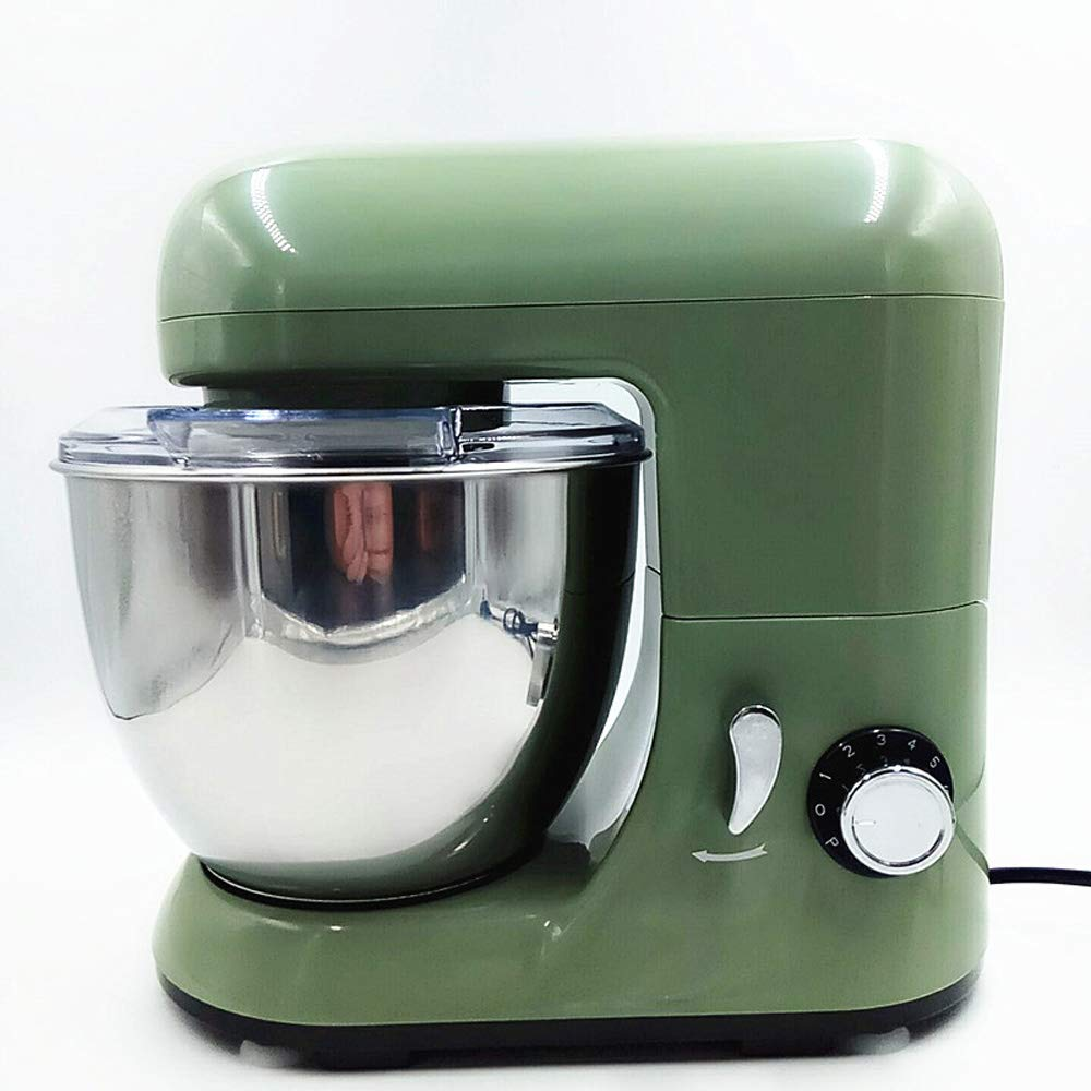QWERTOUY 220V 4L Electric Dough Mixer Professional Automatic Baking Machine Stand Kitchen Food Mixer Cooking Machine Egg Butter Beater by QWERTOUY