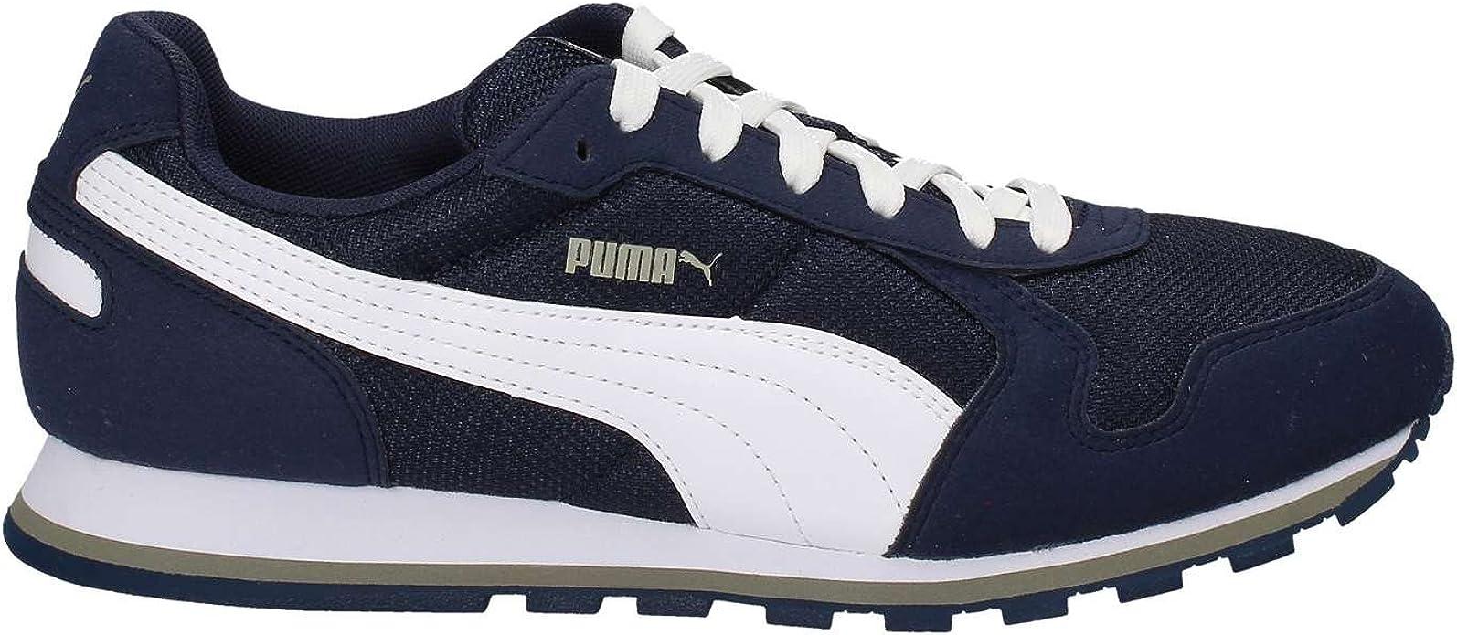 PUMA 359541 06 Sneakers Herren WildlederNylon Blau Blau 39
