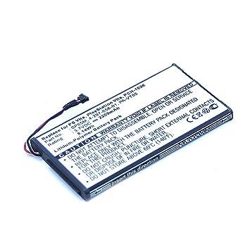 subtel® Batería Premium Compatible con Sony PS Vita (PCH-1000 / PCH-1004) / PS Vita (PCH-1100 / PCH-1104) (2200mAh) SP65M bateria de Repuesto, Pila ...