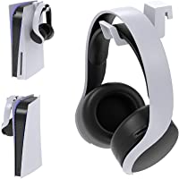 Headset Holder for PS5, Hook Hanger for PS5 Headphone Hanger Holder, Headphone Stand for PS5